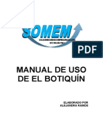 Manual de Uso Del Botiquin
