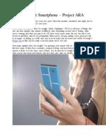The Last Smartphone – Project ARA