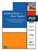 Security and Privacy Made Simpler by Dr. Alan F.