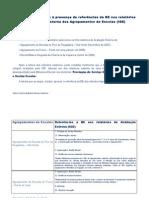 Análise e comentário às referências à BE na A.E. dos Agrupamentos (IGE)