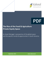 The Rise of the Food & Agriculture Private Equity Space