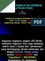 Pedoman Untuk Program Latihan Fisik 2012
