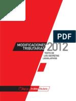 At Mod Trib 2012 - Normas Legales