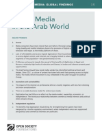 Digital Media in the Arab World - Mapping Digital Media Global Findings