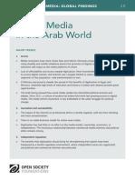 Digital Media in the Arab World - Mapping Digital Media Global Findings