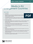 Digital Media in EU Enlargement Countries - Mapping Digital Media Global Findings