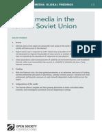 Digital media in the former Soviet Union - Mapping Digital Media Global Findings