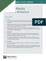 Digital Media in Latin America - Mapping Digital Media Global Findings