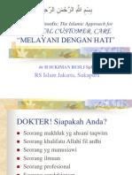 Prinsip Melayani Dg Hati (Dr)