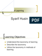 IT3.Taxonomy of Learning.ppt