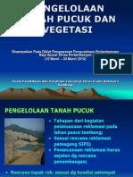 Pengelolaan Tanah Pucuk -Han-2010
