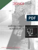 Muntañola Thornberg Josep - Arquitectura Y Hermeneutica
