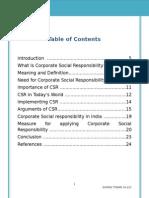 CSR NOTES