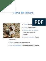 Ficha de Leitura - Ana Fernandes 2