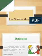 Normas Morales y Culturales 2014