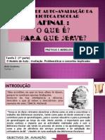 SESSÃO 2 - ACT. 1 - MODELO DE AUTO-AVALIAÇÃO DAS BE