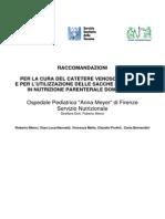Linee Guida Per La Cura Del CVC