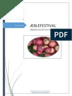 Æblefestival på Tuse Næs 2014