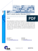 Sweating Assets White Paper