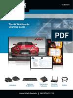 Wege zur effizienten Video- und Audiosignal-Verteilung