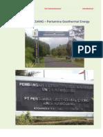 Kamojang Pertamina Geothermal Energy