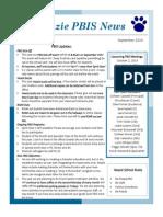 pbis newsletter september