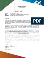 Memorandum JPS 2014-001