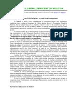 Declaratie PLDM - 22 Septembrie