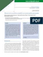 Eficacia de La Succion No Nutritiva en Recien Nacido Pretermino