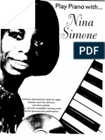 Nina Simone Play Piano With