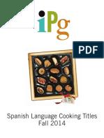 Fall 2014 IPG Spanish Language Cooking Titles