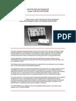 Rotor Reflectometer
