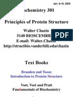 Protein Structure Bioch301.1-2