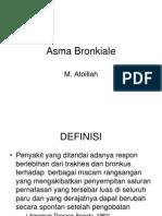 Asma Bronkiale
