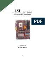 6330(v5.0) Motherboard Manual