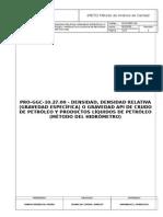 ASTM D 1298-99 (R05)