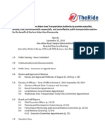 AAATA Board Meeting Packet September 25, 2014