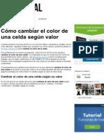 Cómo cambiar el color de una celda según valor - Excel Total.pdf
