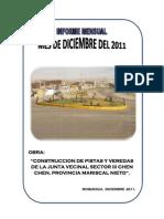 Informe Mensual Diciembre 2011