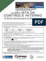 Analista de Controle Interno 2 Etapa