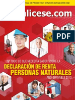 Revista Actualicese.com Revista No. 34. Julio 2014
