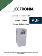 Manual Ar Condicionado Portatil Electronia TC-9061 - 1239947