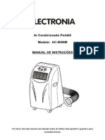 Manual Ar Condicionado Portatil Electronia AC-9000M - 1218195