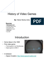 History Videogames