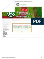 International Education Conference _ Jamia Millia Islamia, Delhi, India -