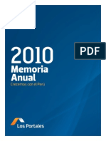 Memoria Anual2010