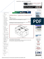 Instalação Elétrica - Ligação Série e Paralelo (MIN108)
