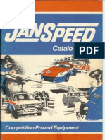 Janspeed Catalogue Feb 81