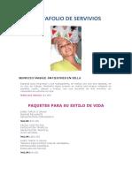 PORTAFOLIO DE SERVIVIOS