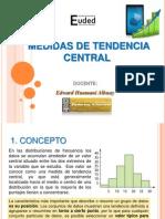 Medidas de Tendencia Central Euded